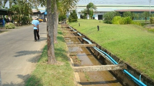 Drainage Capacity Assessment and Design of Nestle Factory in Satthawadaw, Myanmar